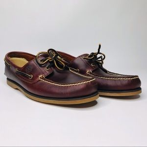 Men's Timberland Boat Shoes Size 11.5